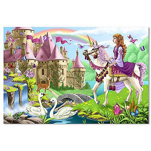 Напольный пазл Melissa & Doug, Волшебный замок от Melissa & Doug