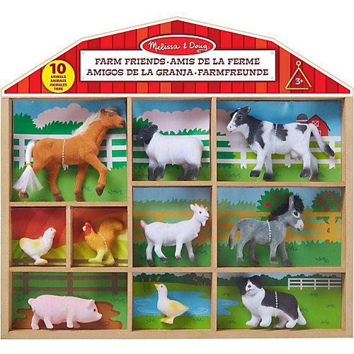 """Фигурки животных Melissa & Doug """"Классические игрушки"""", Ферма от Melissa & Doug"""