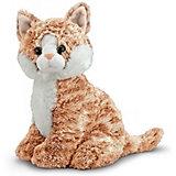 Мягкая игрушка Melissa & Doug, Полосатая кошка