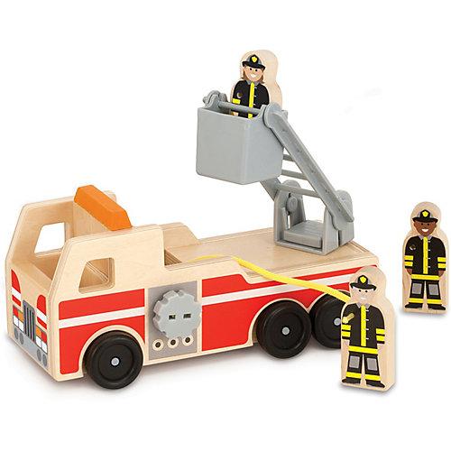 """Пожарная машина Melissa & Doug """"Классические игрушки"""" от Melissa & Doug"""