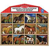 """Набор лошадок Melissa & Doug """"Классические игрушки"""""""