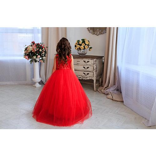 Нарядное платье Aliciia - красный от Aliciia
