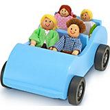 Машина и кукольная семья Melissa & Doug