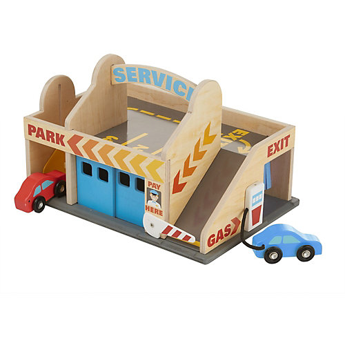 """Автостоянка Melissa & Doug """"Классические игрушки"""" от Melissa & Doug"""