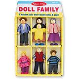 Кукольная семья Melissa & Doug
