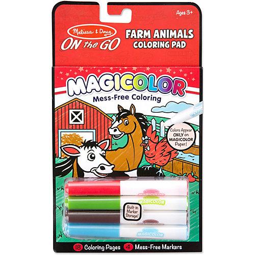 """Раскраска Melissa & Doug """"Творчество"""", Животные с Фермы от Melissa & Doug"""
