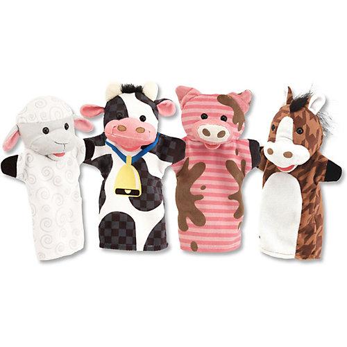 Плюшевые куклы на руку Melissa & Doug, Ферма от Melissa & Doug