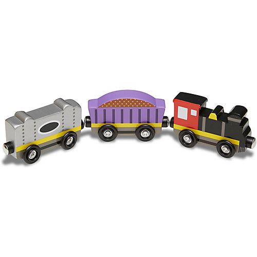 """Набор вагончиков Melissa & Doug """"Деревянные игрушки"""" от Melissa & Doug"""
