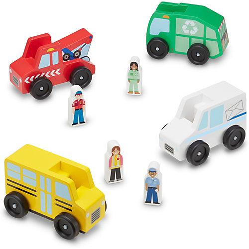 """Набор машинок Melissa & Doug """"Классические игрушки"""" от Melissa & Doug"""