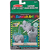 Блокнот Melissa & Doug Scratch art, Сафари