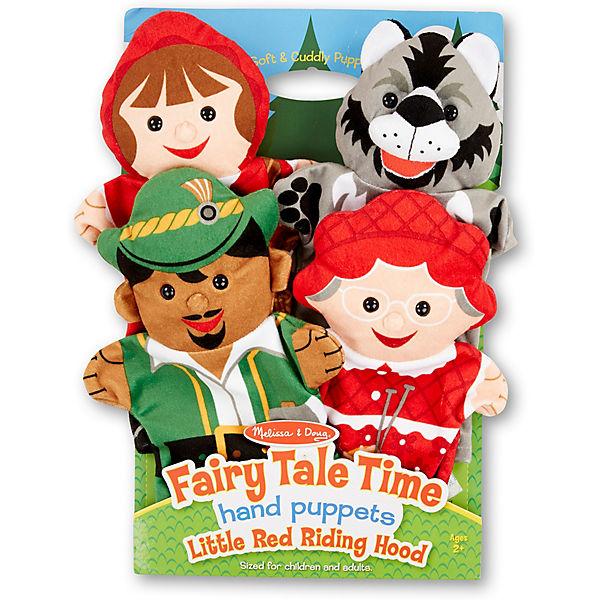 Плюшевые куклы на руку Melissa & Doug, Красная шапочка