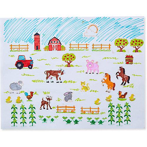 """Набор печатей Melissa & Doug """"Творчество"""", Ферма от Melissa & Doug"""