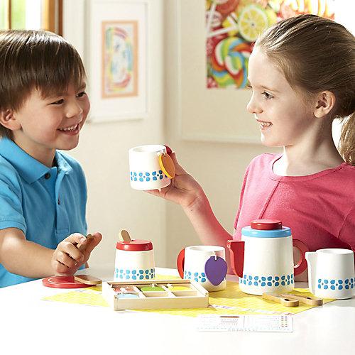 """Набор для чаепития Melissa & Doug """"Готовь и играй"""" от Melissa & Doug"""
