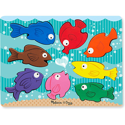 """Цветные рыбки Melissa & Doug """"Первые навыки"""" от Melissa & Doug"""
