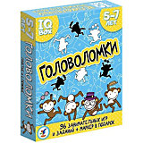 "Карточная игра IQ Box ""Головоломки: 5-7 лет"""