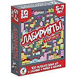 "Карточная игра IQ Box ""Лабиринты: 5-7 лет"""
