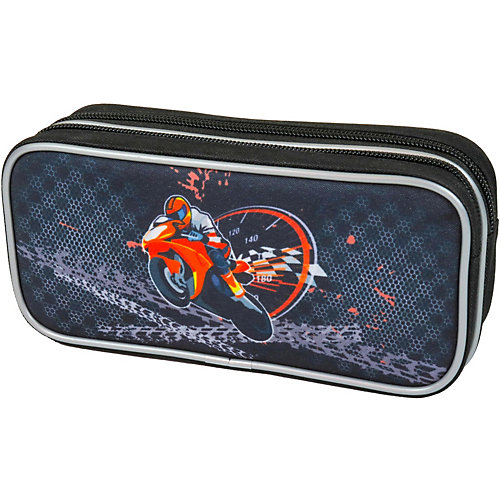 Пенал-косметичка Magtaller Motorbike - черный от MagTaller