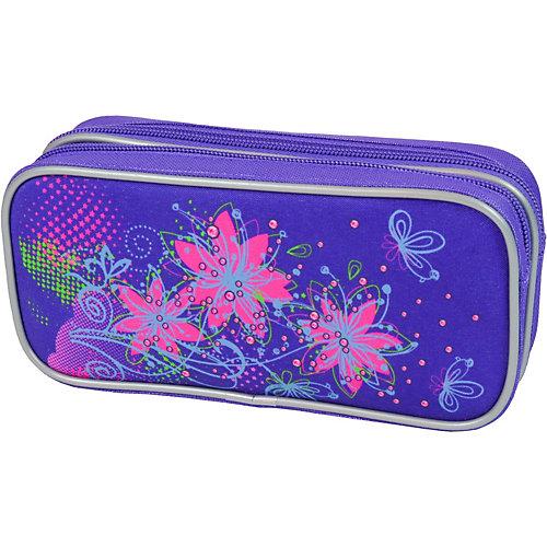 Пенал-косметичка Magtaller Flowers - фиолетовый от MagTaller