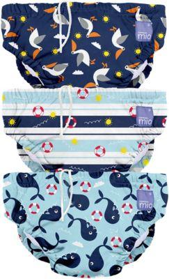 Schwimmwindel, blau, Gr. XL, 2+ Jahre, 3er Packung, Bambino Mio