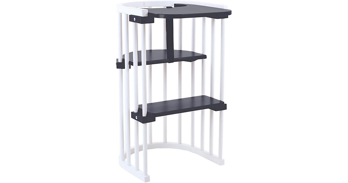 Hochstuhlumrüstsatz babybay Original, Maxi und Comfort, schiefergrau lackiert  Kinder