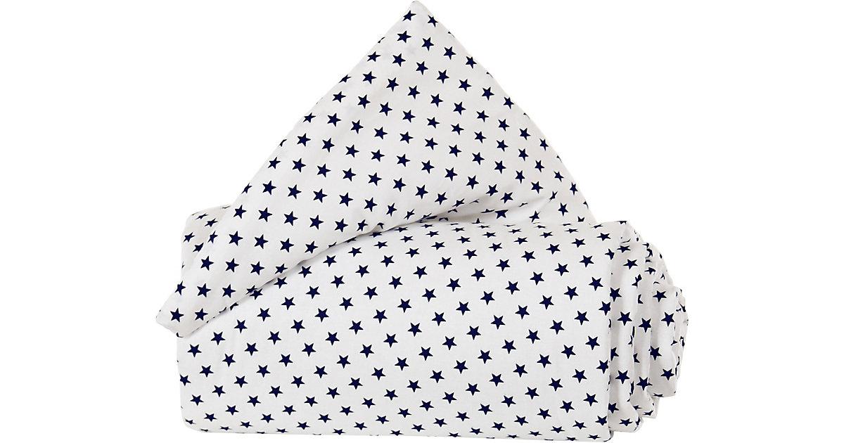 Tobi Babybay · Nestchen Organic Cotton babybay Original, weiß Sterne blau Kinder