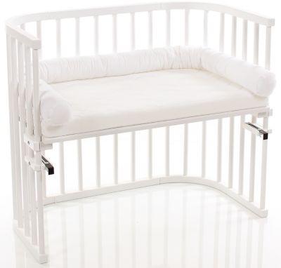 wei/ß babybay Nestchenschlange Piqu/é passend f/ür Kinderbetten