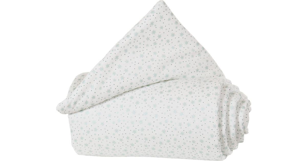 Gitterschutz Organic Cotton Verschlussgitter alle babybay Modelle, weiß Glitzersterne mint mint/weiß  Kinder