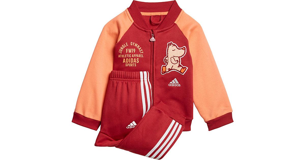 Baby Jogginganzug I BBALL JOG FL  bordeaux Gr. 74 Mädchen Baby