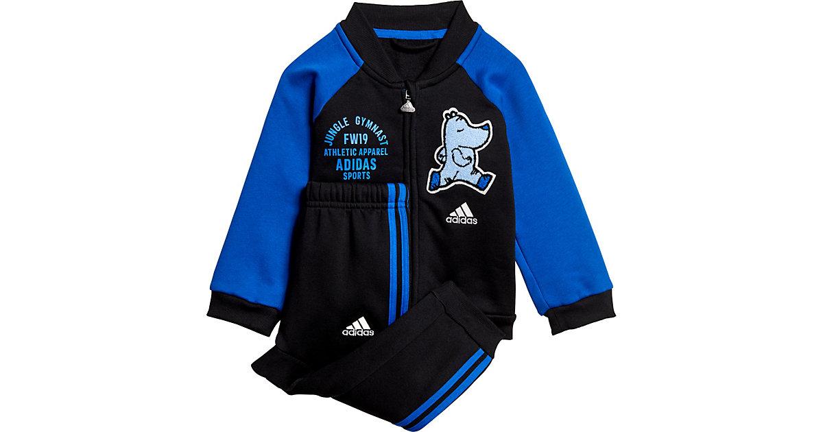 Baby Jogginganzug I BBALL JOG FL  schwarz Gr. 62 Jungen Baby