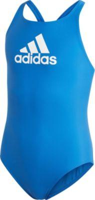 ADIDAS Badeanzug 3S Mädchen blaurosa, Größe: 14 J. Gr. 164