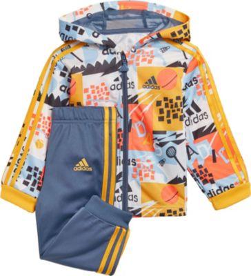 Baby Trainingsanzug SHINY FZ HD J für Jungen, adidas Performance