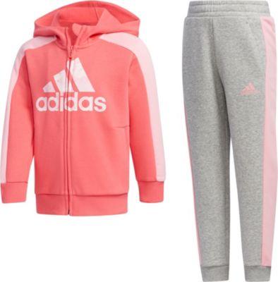 Jogginganzug LK GFX HDY SET für Mädchen, adidas Performance