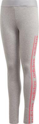 Adidas Hose 34 Mädchen Gr.128 neu hellblau