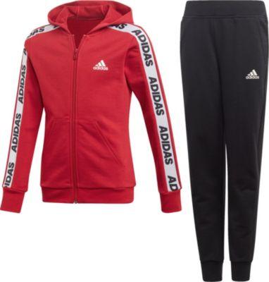 Jogginganzug YG HOOD COT TS für Mädchen, adidas Performance