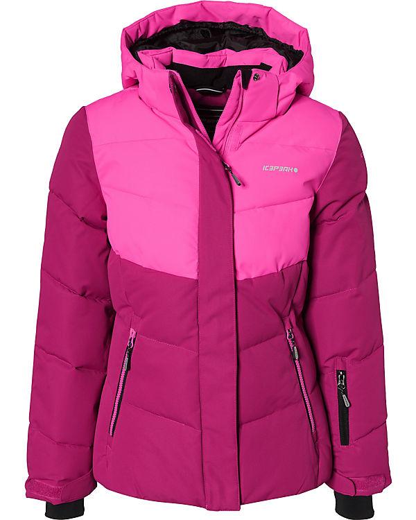 gut aus x Vielzahl von Designs und Farben Luxus-Ästhetik Skijacke LILLE für Mädchen, ICEPEAK