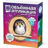 Объемная аппликация Фантазер «Совушка»