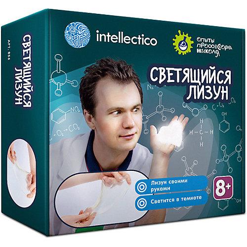 Набор Intellectico «Опыты профессора Николя. Лизуны светящиеся»