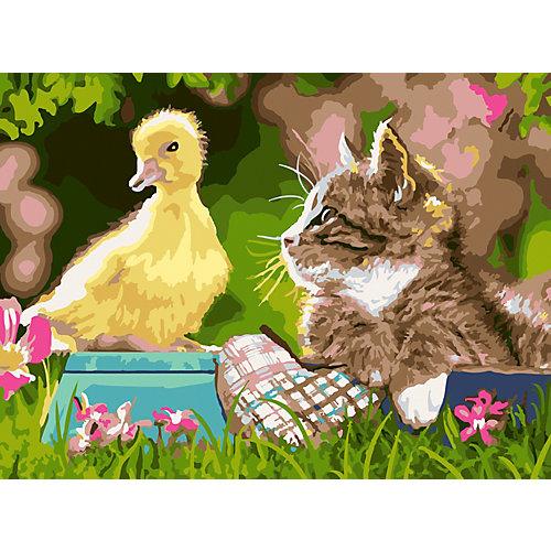 Картина по номерам Color KIT Нежная дружба от Color KIT