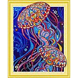 Алмазная картина Color KIT Сокровища океана, с фигурными стразами