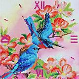 Алмазные часы Color KIT Райские птички