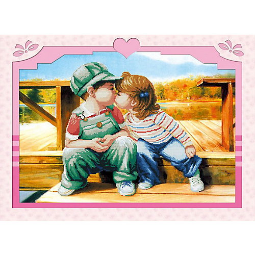 Мозаика по номерам Color KIT Первый поцелуй от Color KIT