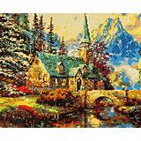 Алмазная картина Color KIT Домик в горах