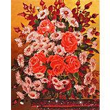 Алмазная картина Color KIT Букет с ромашками