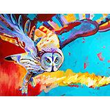 Картина по номерам Color KIT Полет совы