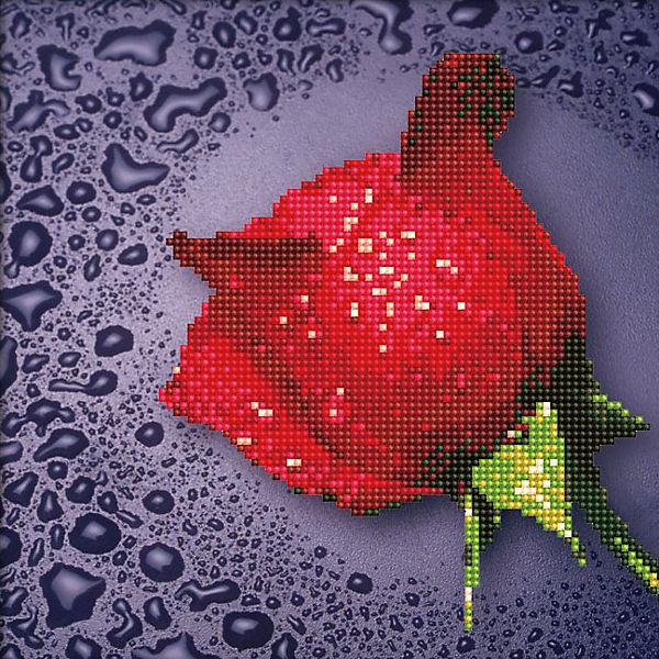 Мозаика по номерам Color KIT Красная роза