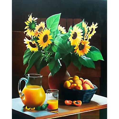 Картина по номерам Color KIT Оранжевый натюрморт от Color KIT