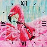 Алмазные часы Color KIT Грациозные фламинго