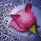 Мозаика по номерам Color KIT Розовая роза