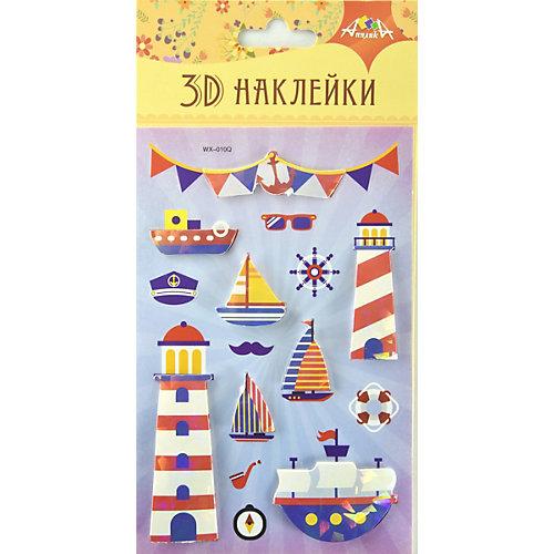 """3D-наклейки Апплика """"Море"""", 8 шт от АппликА"""