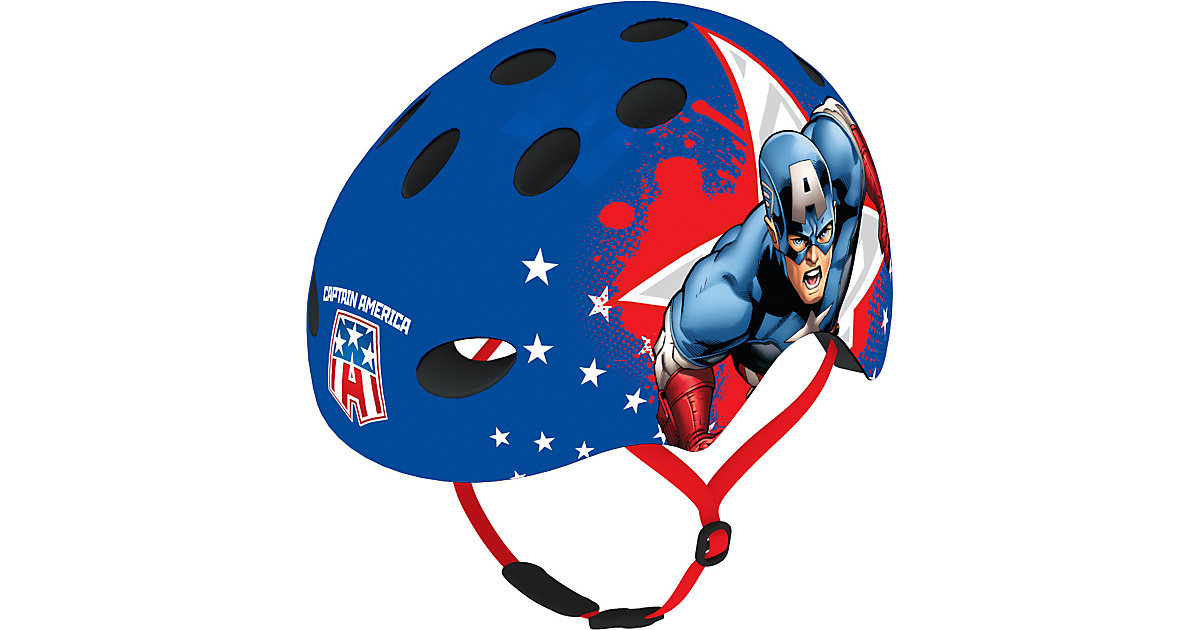Skaterhelm, Captain America blau Gr. 54-58